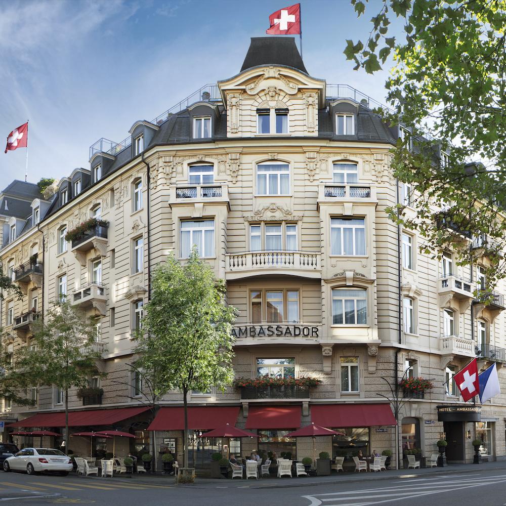 Ambassador à l'Opéra Small Luxury Hotel Zürich