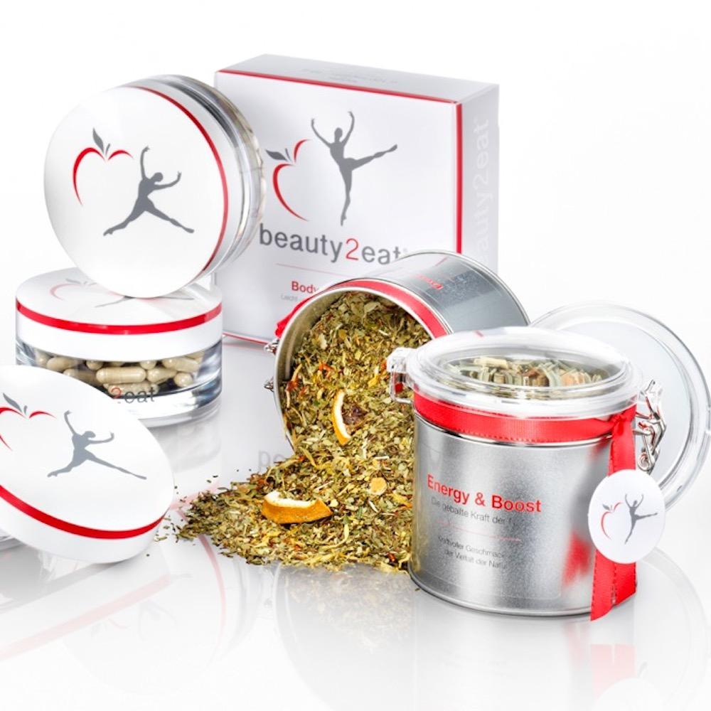 beauty2eat Energy Boost Kräuter Tee