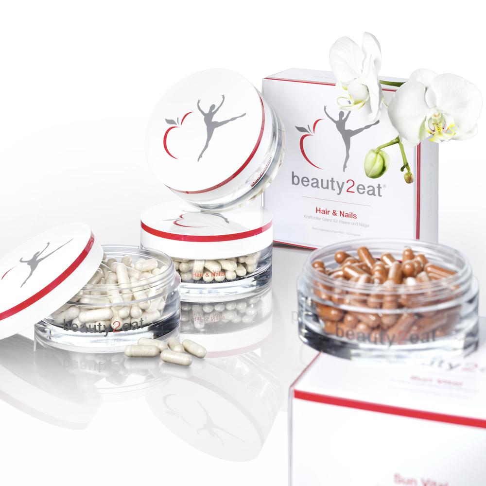 beauty2eat Kapseln für Haare und Nägel