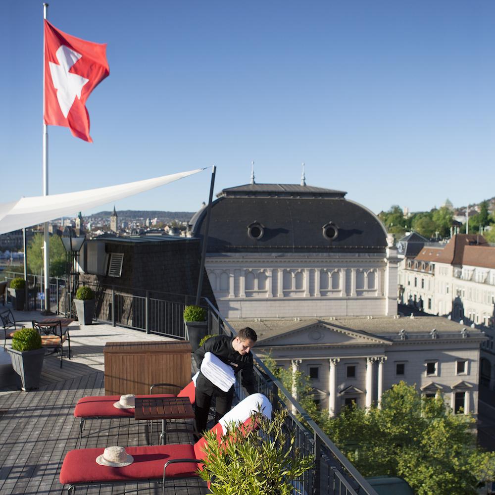 Hotel Ambassador Zürich The View