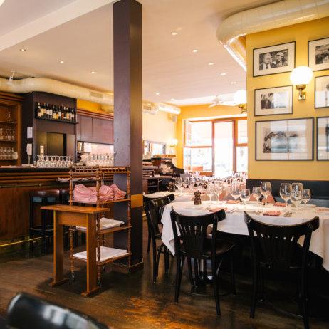 Lumiere französisches Restaurant Zürich Bar