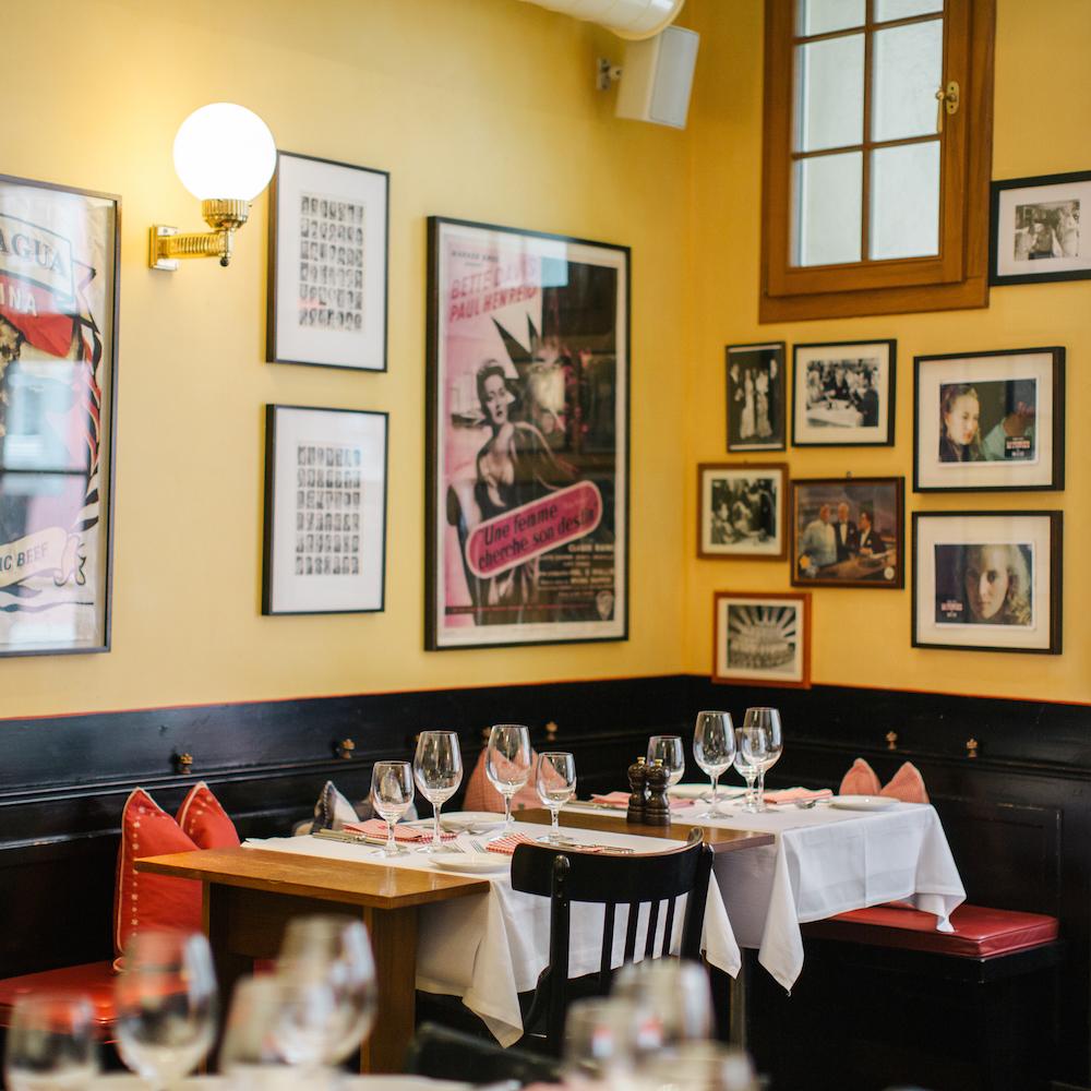 Lumiere französisches Restaurant Zürich Altstadt