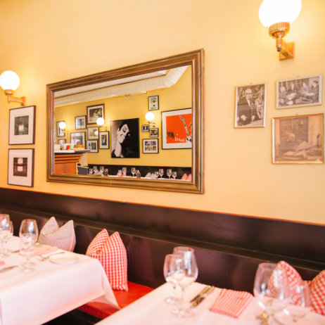 Lumiere französisches Restaurant Zürich Innenraum