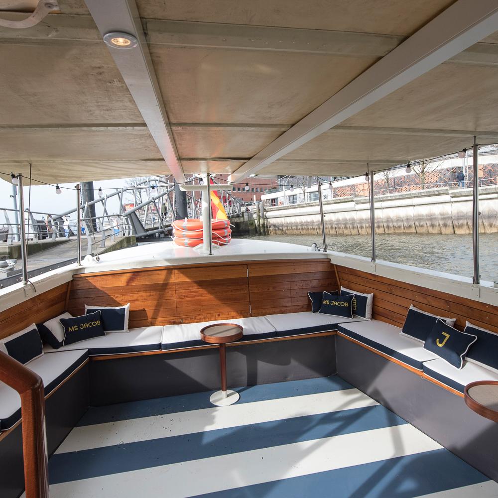 MS Jacob Schiff Hamburg Ausflug Elbe