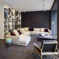 Poliform Varenna Berlin Charlottenburg Showroom Wohnzimmer