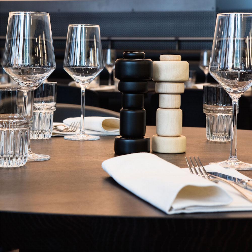 Baltho Restaurant Zürich gedeckter Tisch
