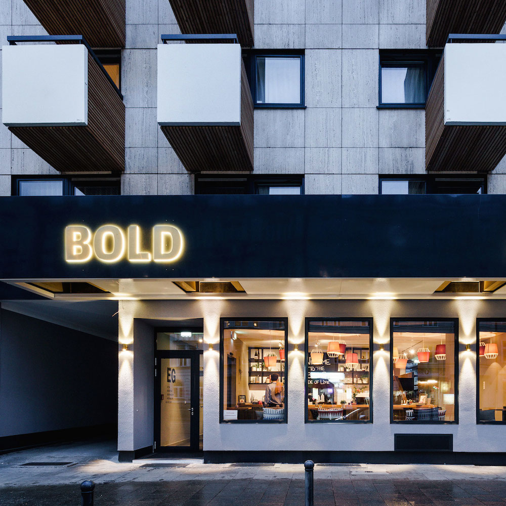 BOLD Hotel München Zentrum Aussenansicht Lindwurmstraße