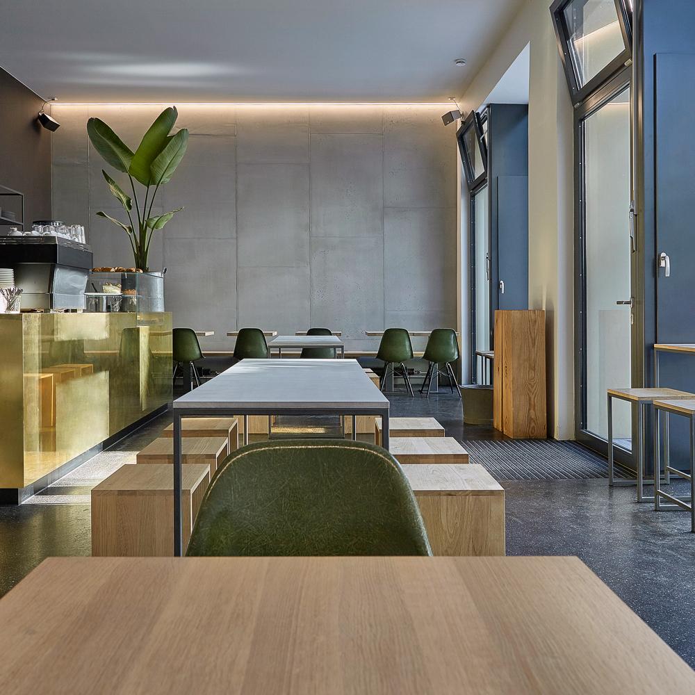 Café Restaurant Oliv Eat Potsdamer Straße Innenraum