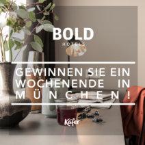 Gewinnspiel München Bold Hotel
