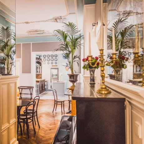 Hotel HENRI Berlin Offene Küche und Speisesaal