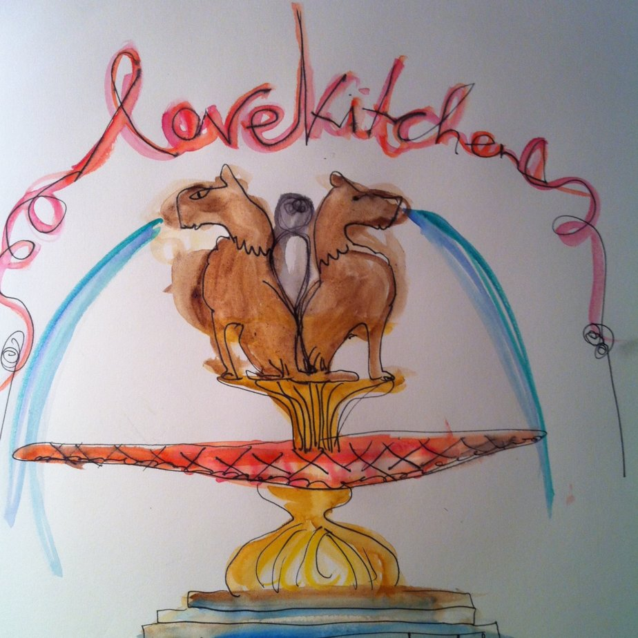Lovekitchen Eschi Fiege Aquarell