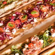 Pizzesco München Gasteig - Dinkelpizza am Meter
