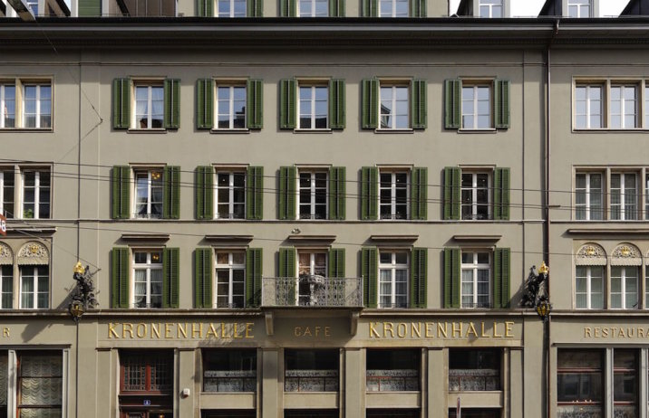 Restaurant Brasserie Kronenhalle Fassade