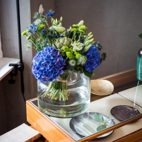 Tollwasblumenmachen Ausstellung Berlin Blumenstrauß