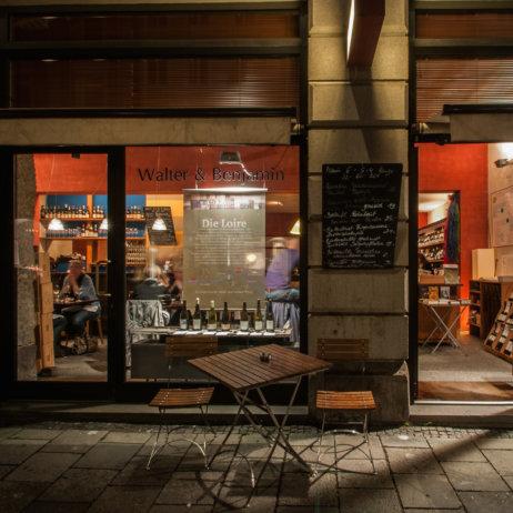 Walter und Benjamin Weinbar und Restaurant München