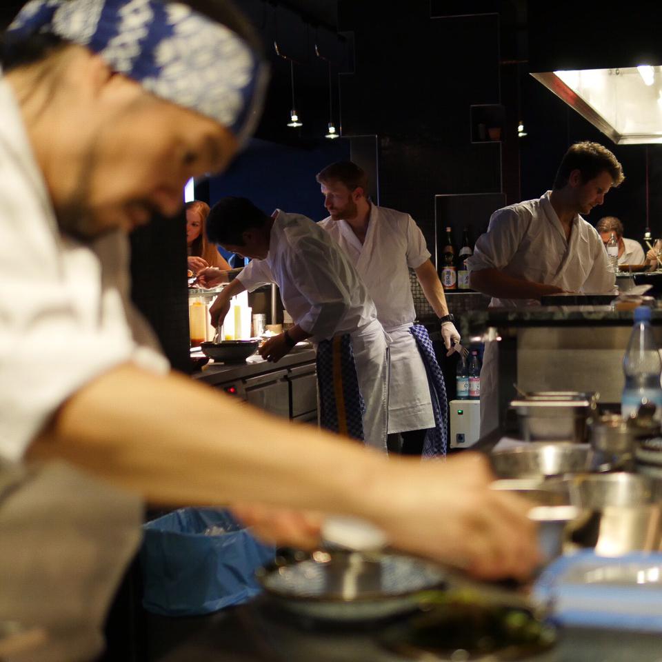 893 Ryotei Restaurant Bar Charlottenburg Küche