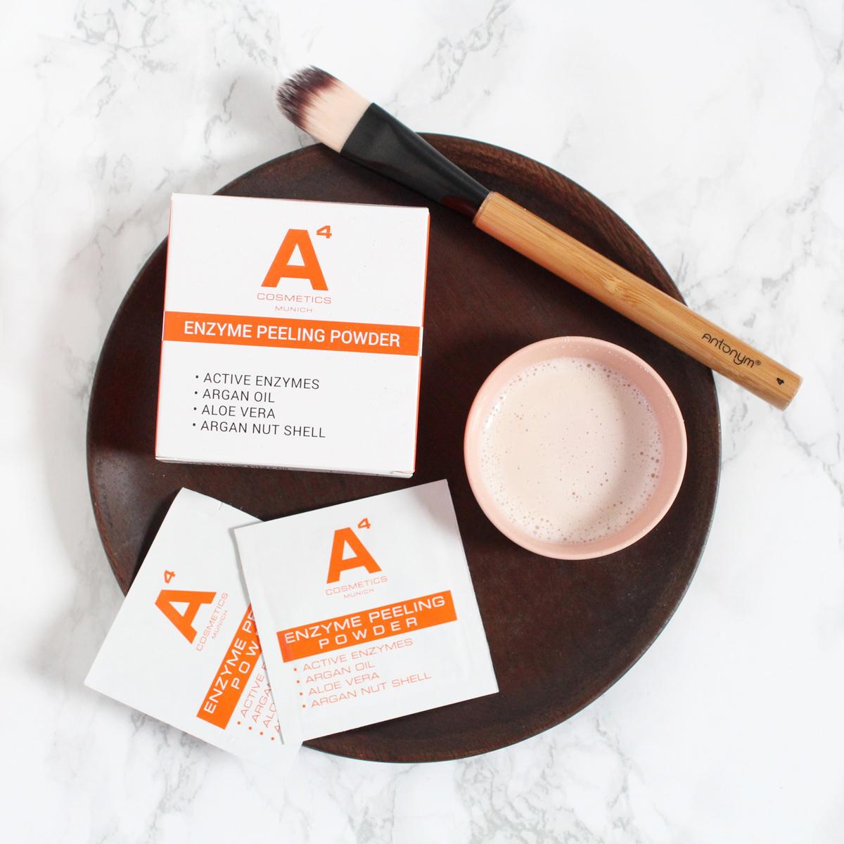 Enzym Peeling Powder von A4 Cosmetics_