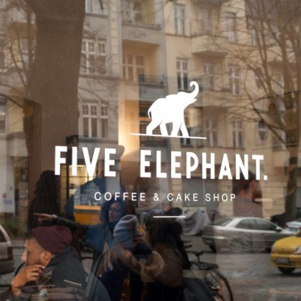 Five Elephant Café Berlin Kreuzberg