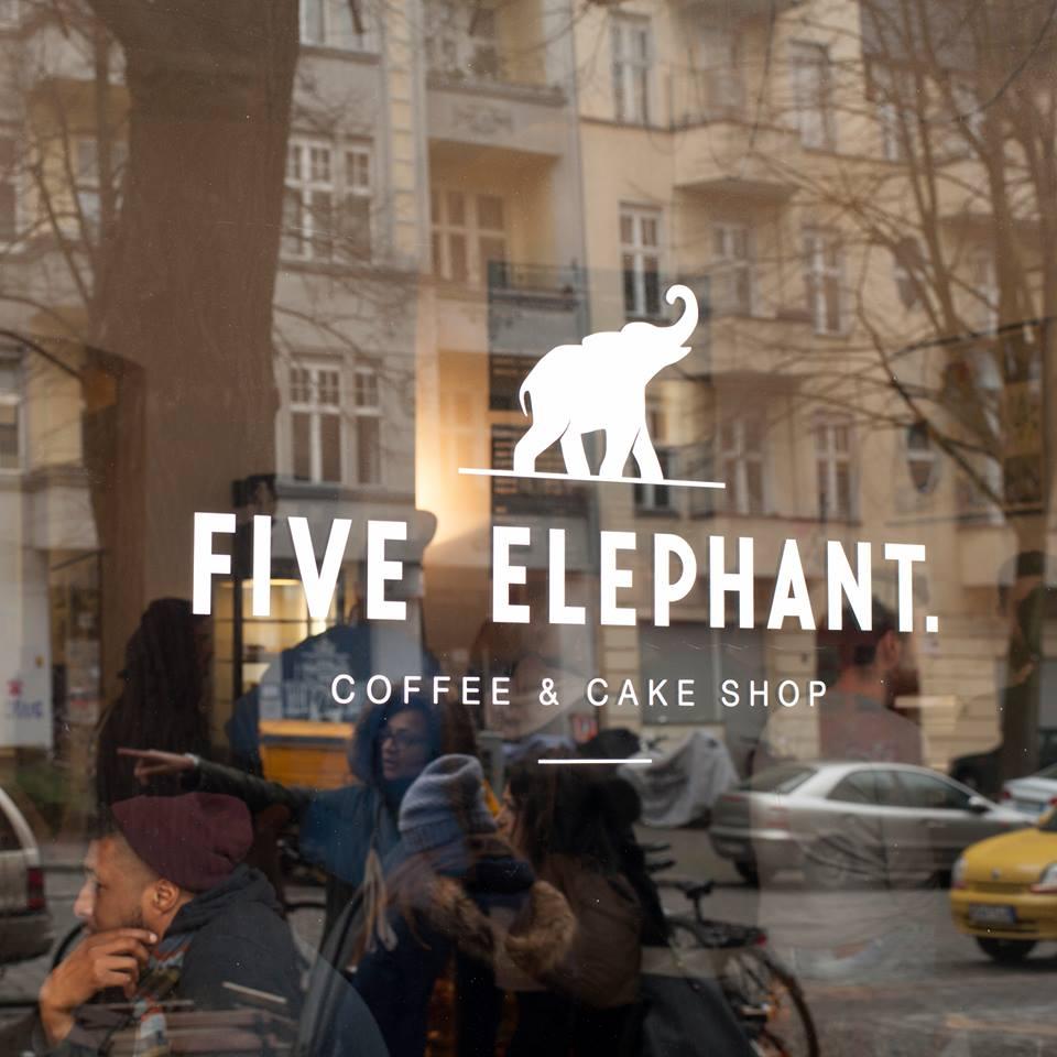 Five Elephant Café Berlin Kreuzberg