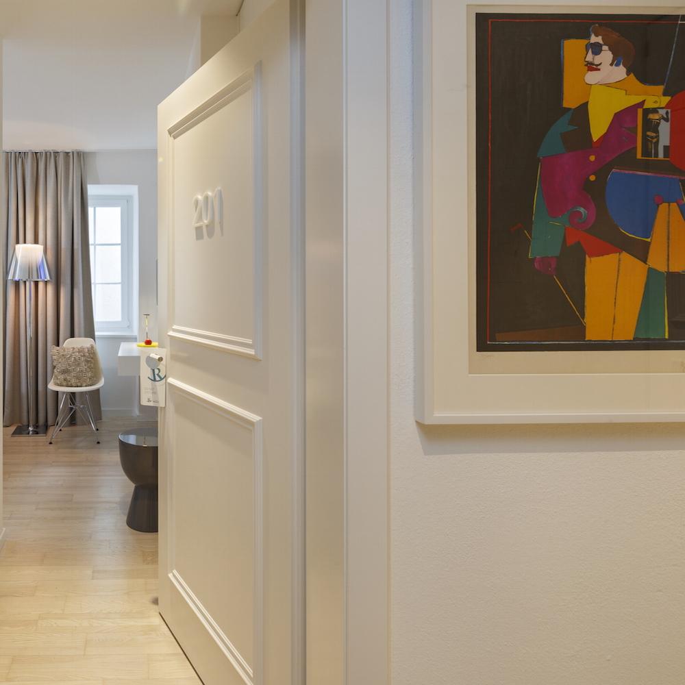 Hotel Rössli Zimmer Kunst