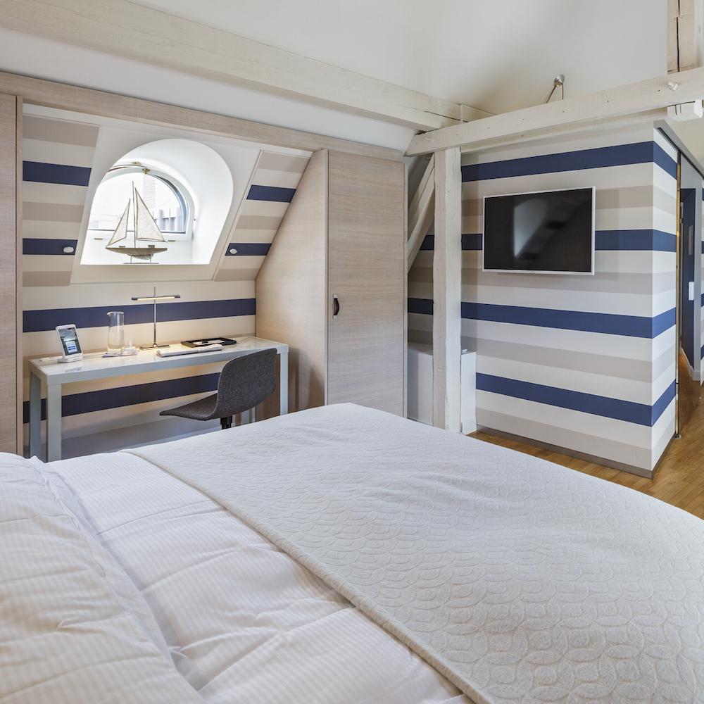 Hotel Seehof Zimmer blau