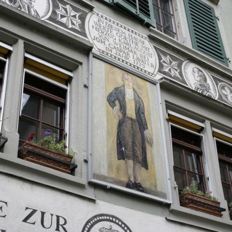 Kaisers Reblaube Fassade Haus