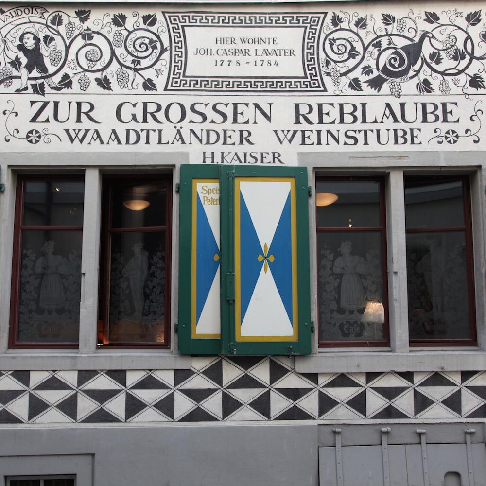 Kaisers Reblaube Hausfassade