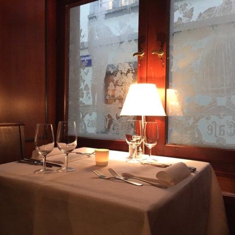 Kaisers Reblaube Weinstube Tisch