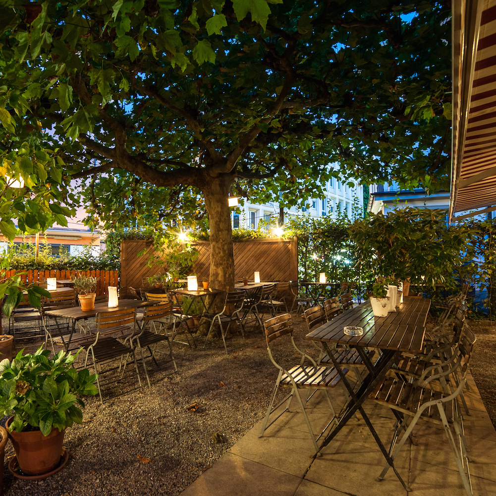 Restaurant Drei Stuben Garten