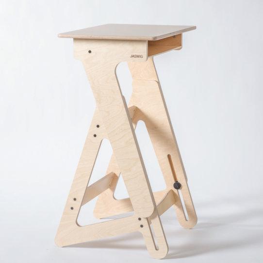 StandUp Nomad Stehpult von Jaswig aus Holz