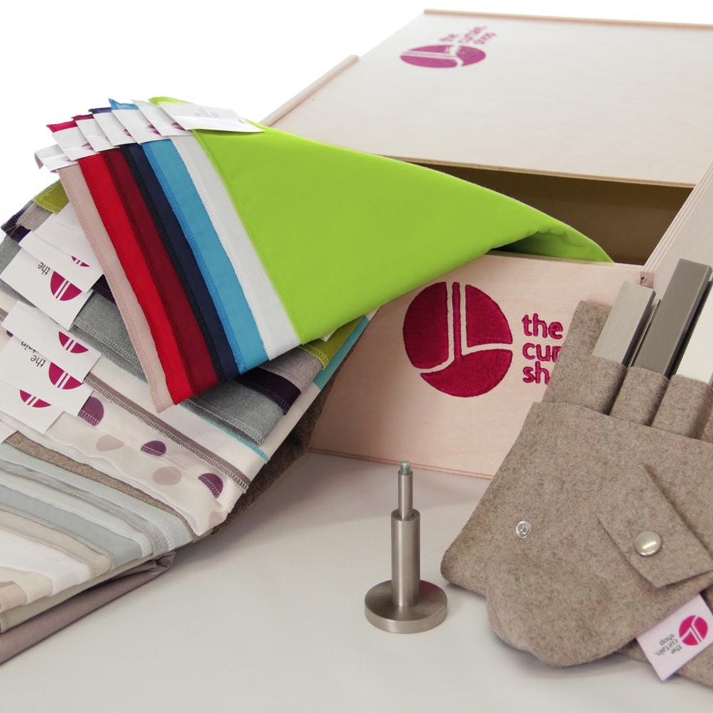 The Curtain Shop Vorhang nach Maß online bestellen Stoffe