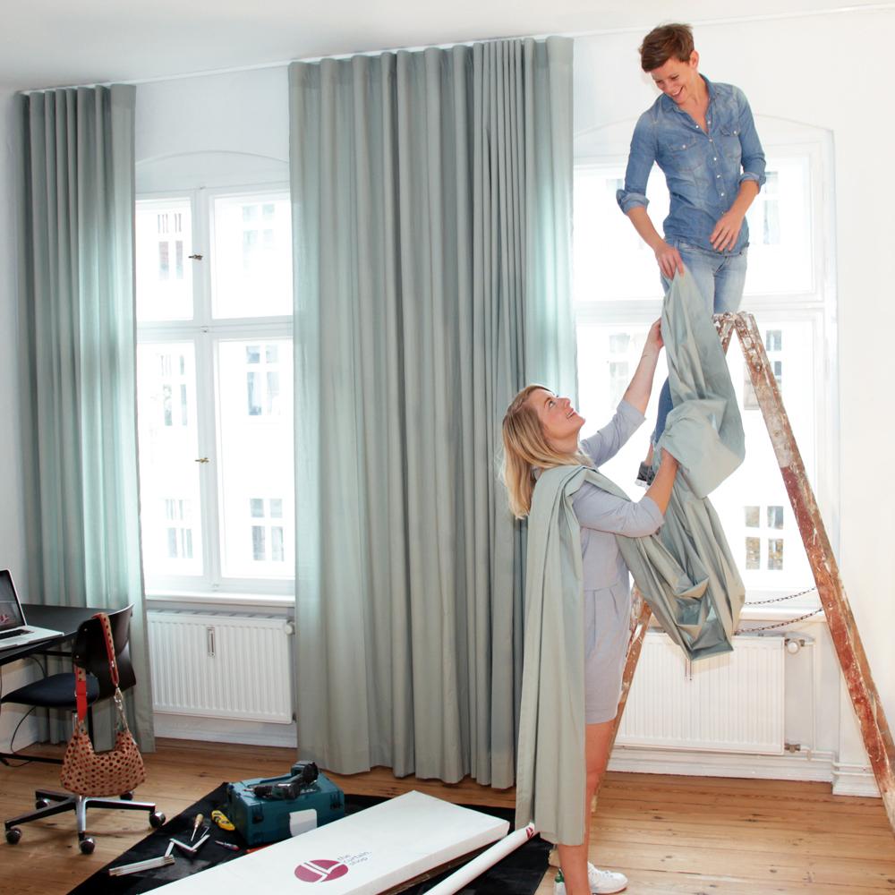 The Curtain Shop Vorhang nach Maß online bestellen Montage