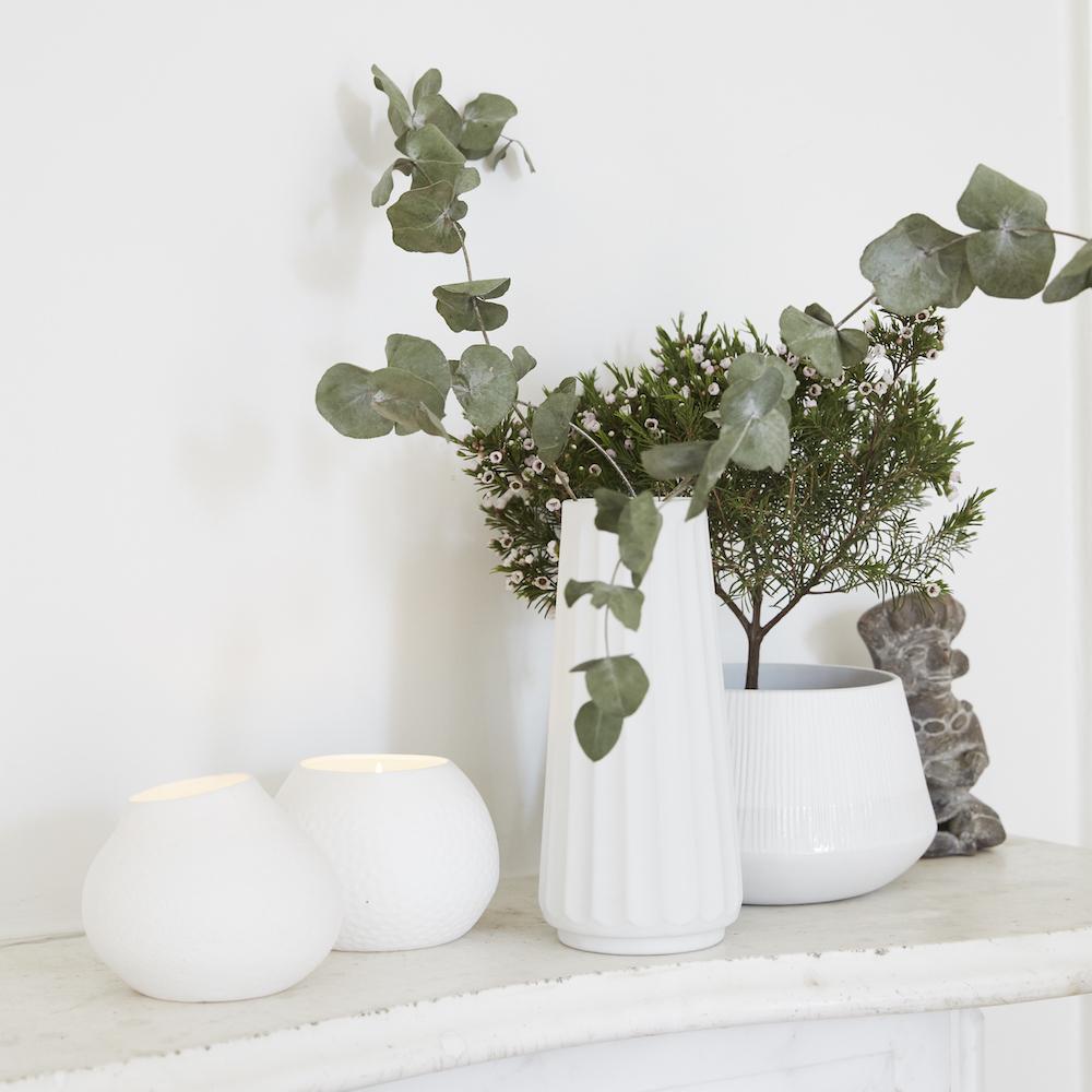 Atlelier Sochor Shop Weisse Vasen