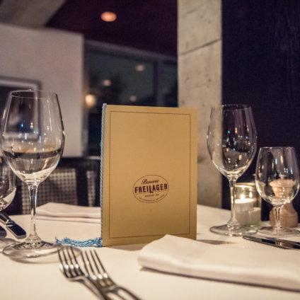 Brasserie Freilager Menü