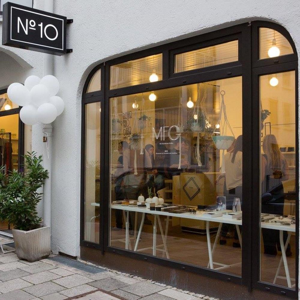 Designer Weihnachtsgeschenke Shoppingevent München Maxvorstadt