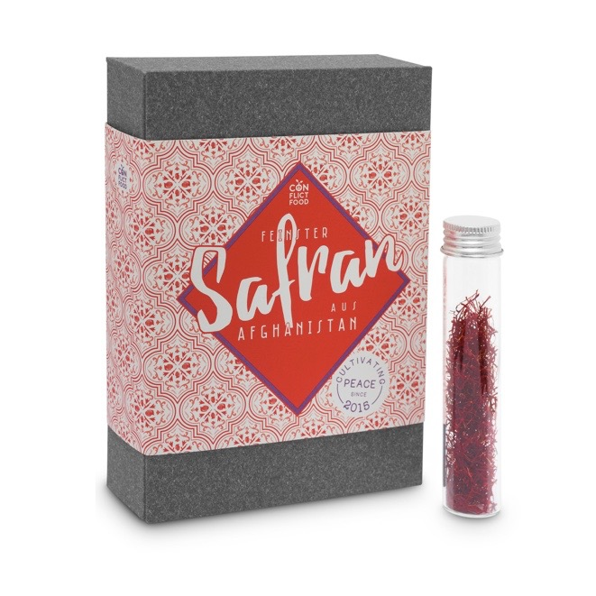 Safran Geschenkbox Conflictfood
