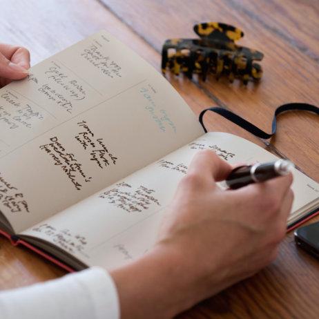 Treuleben - Aufteilung Work Life Kalender