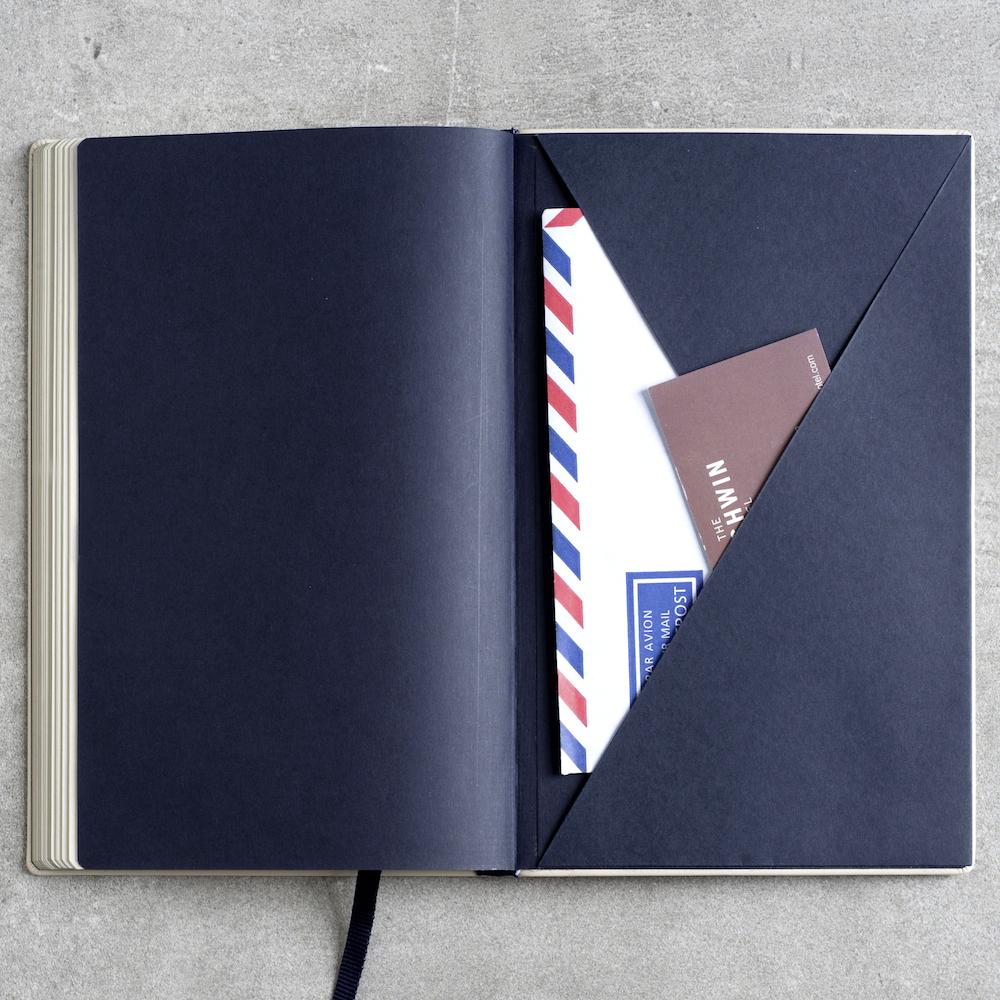 Treuleben - Kuverttasche im Einband