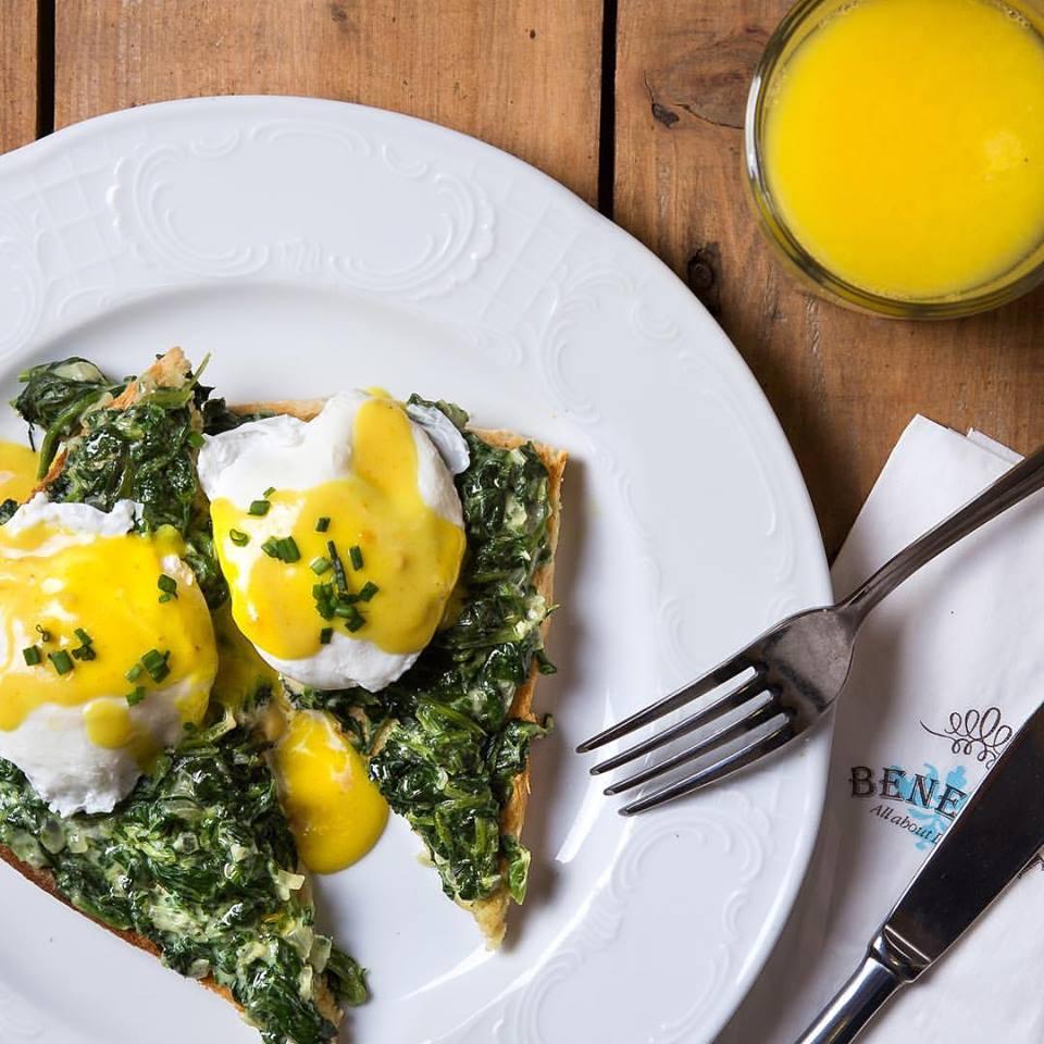 Eggs Benedict in Berlin