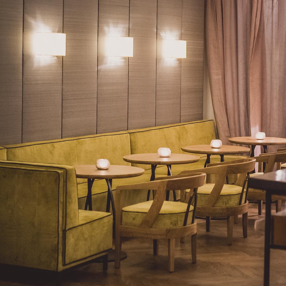 Grapes Bar München Neues Interior im Cortiina Hotel