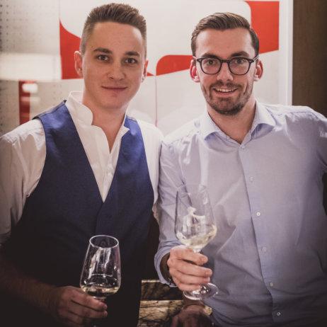 Grapes Bar München Sommeliers Stefan Grabler und Markus Hirschler