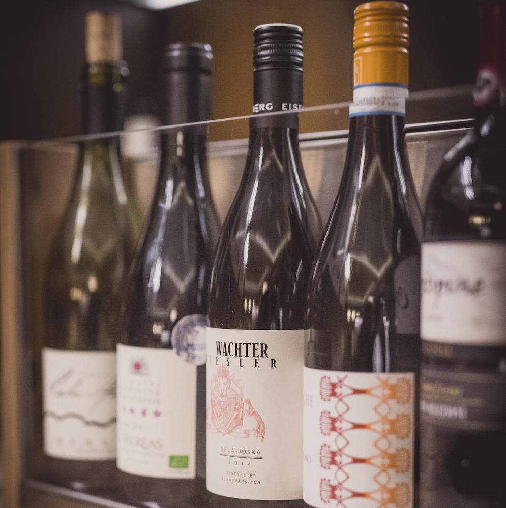 Grapes Bar München Weinauswahl