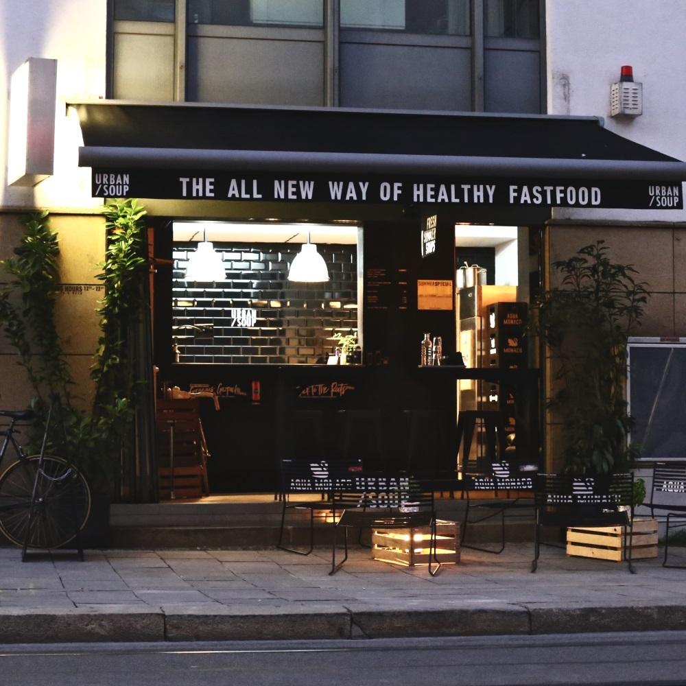 Urban Soup Suppen-Store Glockenbachviertel München