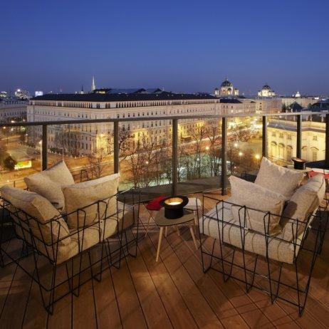 25hours Hotel_Wien_Bar Dachterasse