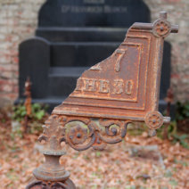 Alter jüdischer Teil des Zentralfriedhofs Wien