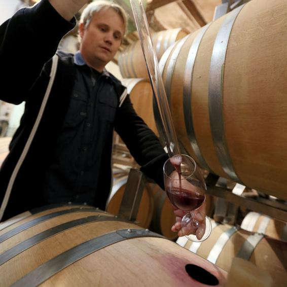 Weinverkostung bei Schwarzenbach Weinbau-12