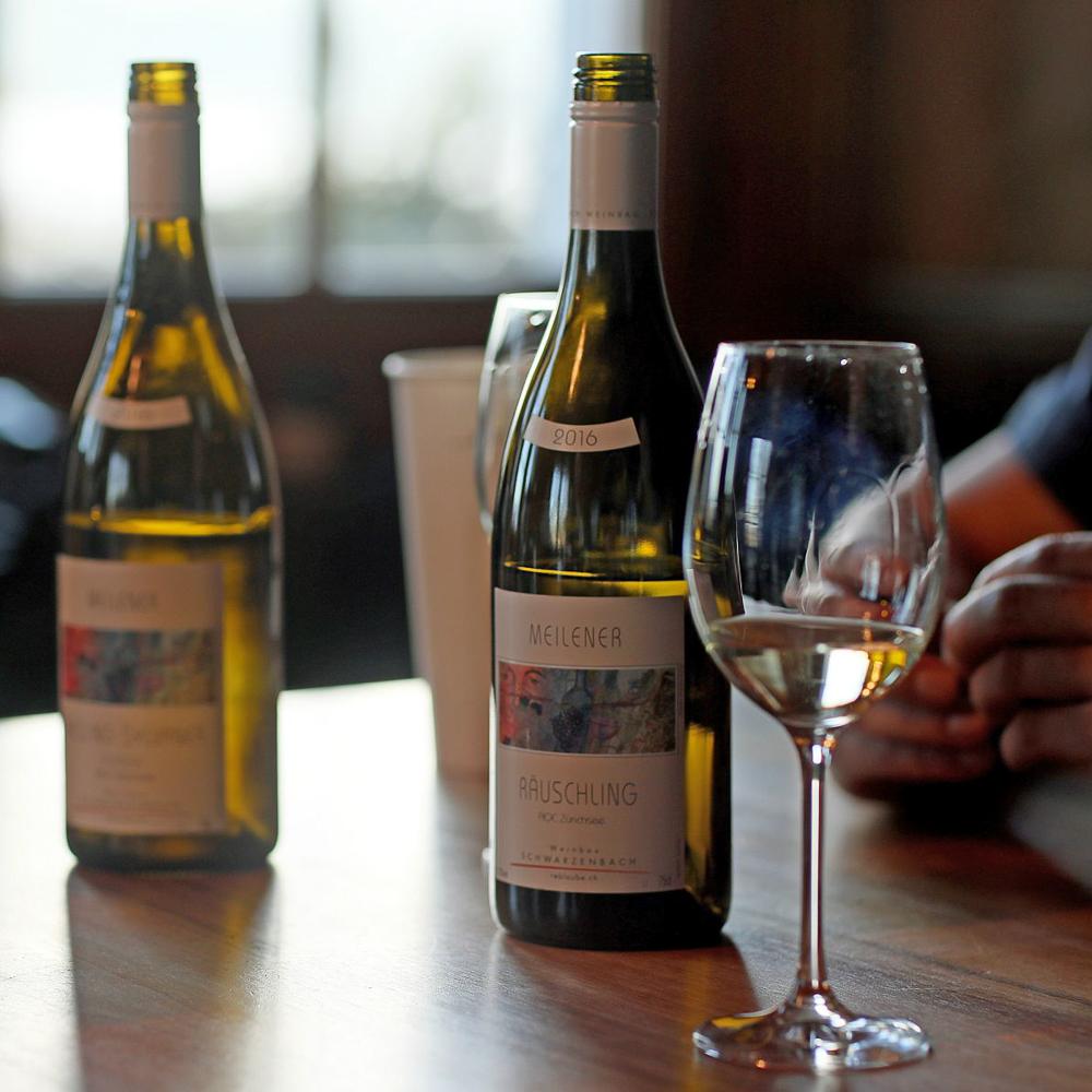 Weinverkostung bei Schwarzenbach Weinbau-4