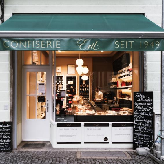 Café Ertl München Schaufenster