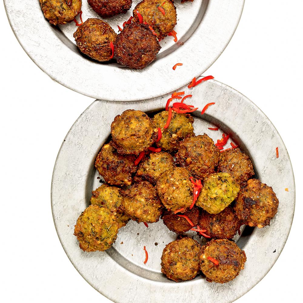 Hayas Kitchen Mais Falaffel Rezept