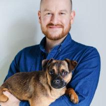 Michael Hetzinger und Hund Hertha